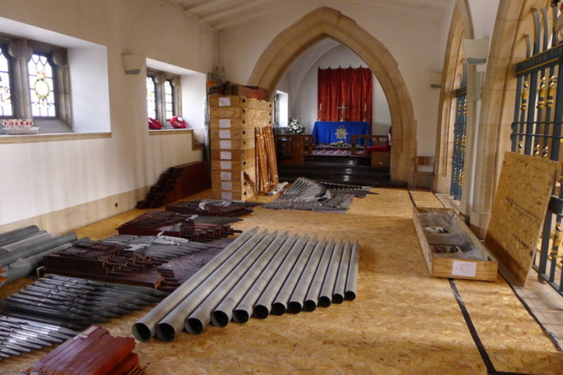 Dismantling of the Organ