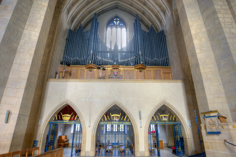 Image of the Organ in the nave